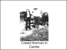 Creed Norman in Center